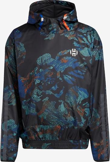 ADIDAS PERFORMANCE Sportjacke 'Harden' in mischfarben / schwarz, Produktansicht