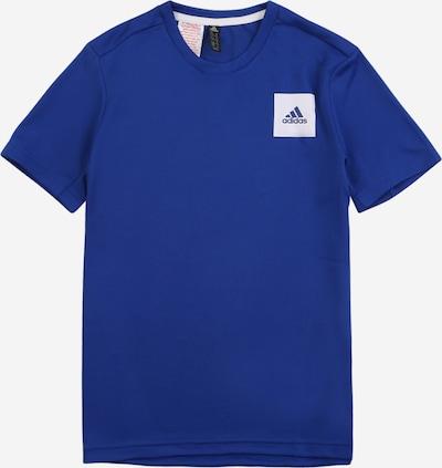ADIDAS PERFORMANCE Functioneel shirt in de kleur Royal blue/koningsblauw / Wit, Productweergave