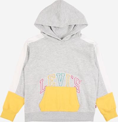 LEVI'S Sweatshirt in hellblau / gelb / graumeliert / hellpink, Produktansicht