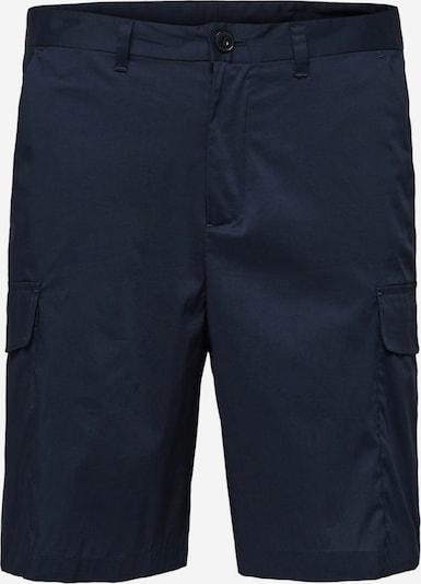 SELECTED HOMME Cargobroek in de kleur Marine, Productweergave