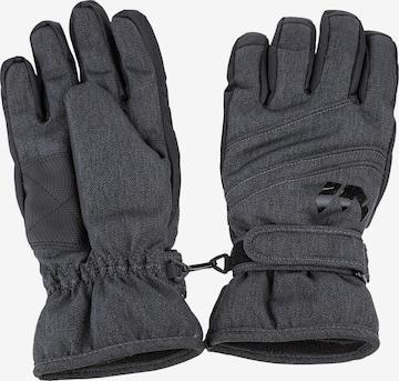 Whistler Skihandschuhe 'RUMI Melange Ski Gloves' in Grau