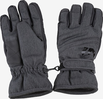 Whistler Athletic Gloves 'RUMI Melange Ski Gloves' in Dark grey, Item view