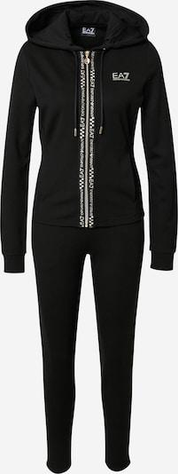EA7 Emporio Armani Tracksuit in Black / White, Item view