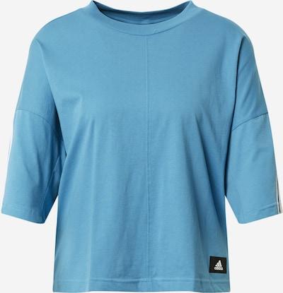 ADIDAS PERFORMANCE Funkcionalna majica | nebeško modra barva: Frontalni pogled