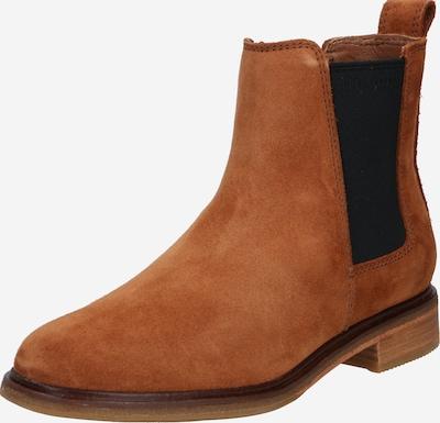 CLARKS Chelsea Boots 'Arlo' en marron, Vue avec produit