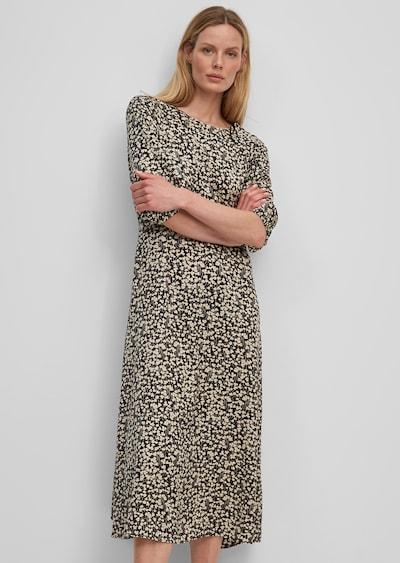 Marc O'Polo Kleid in beige / schwarz, Modelansicht