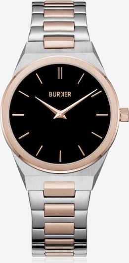 BURKER Watches Uhr 'Emma' Black Rose Gold Silver in mischfarben, Produktansicht