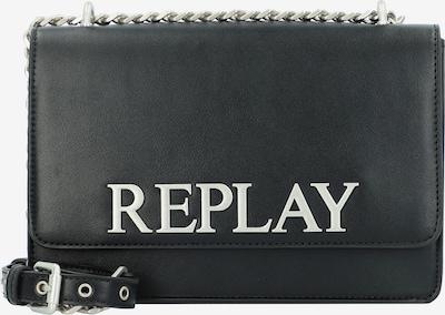 REPLAY Umhängetasche in schwarz / weiß, Produktansicht
