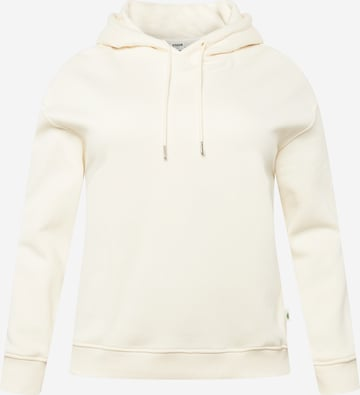 Urban Classics Curvy Sweatshirt i beige