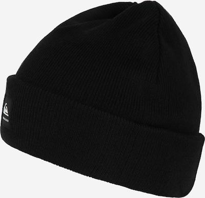 QUIKSILVER Sportovní čepice 'BRIGADE EANIE' - černá / bílá, Produkt