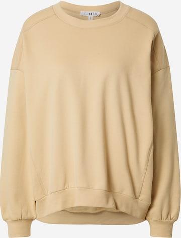 EDITED Sweatshirt 'Lana' i beige