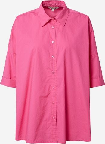 Herrlicher Bluse 'Marini' in Pink