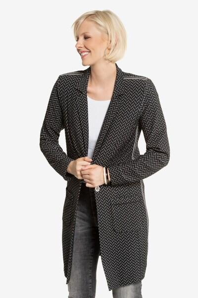 Gina Laura Longblazer in grau / schwarz, Modelansicht