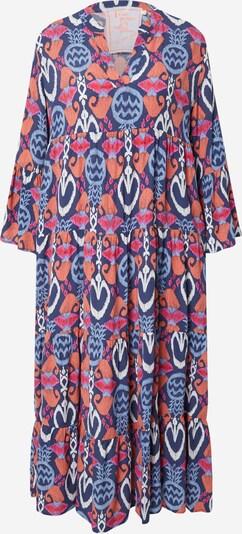 LIEBLINGSSTÜCK Košilové šaty 'Elda' - marine modrá / chladná modrá / korálová / pink / bílá, Produkt