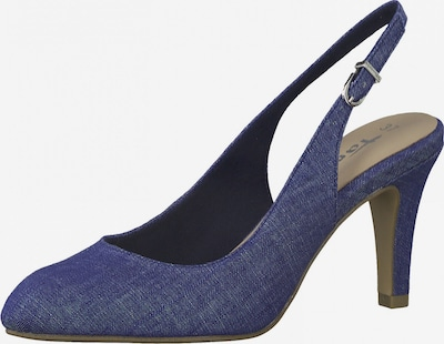 TAMARIS Slingpumps in blue denim, Produktansicht