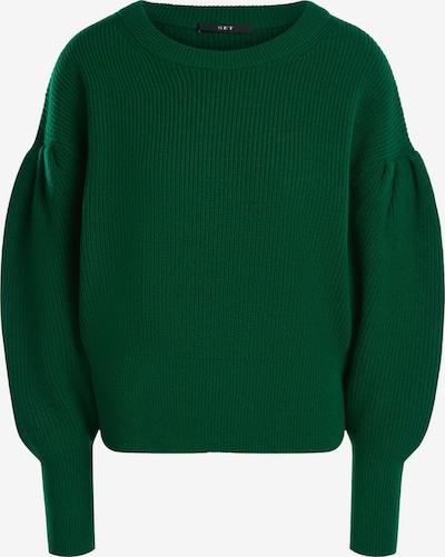 SET Pullover in smaragd, Produktansicht