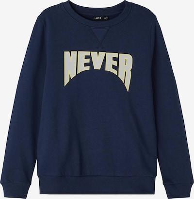 LMTD Sweatshirt 'Nadal' in de kleur Donkerblauw / Geel / Wit, Productweergave