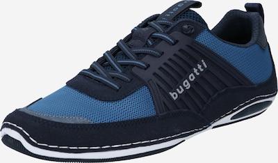 bugatti Schnürschuh in rauchblau / schwarz, Produktansicht