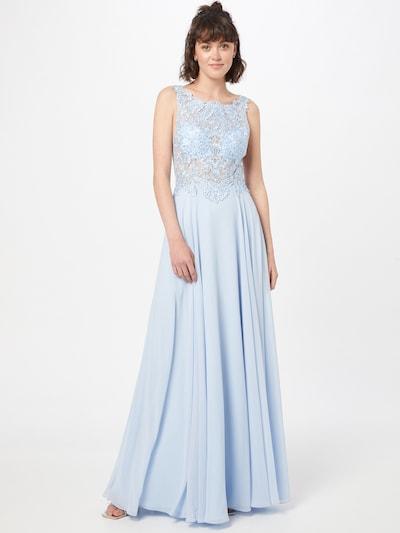 mascara Kleid in rauchblau, Modelansicht