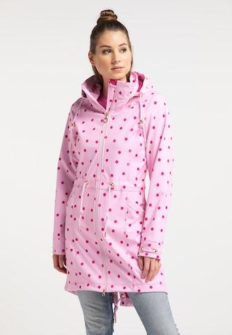MYMO Softshellmantel in Pink
