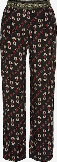 Pepe Jeans Hose in grün / rot / weiß, Produktansicht