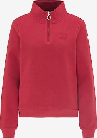 DreiMaster Maritim Sweatshirt in Red