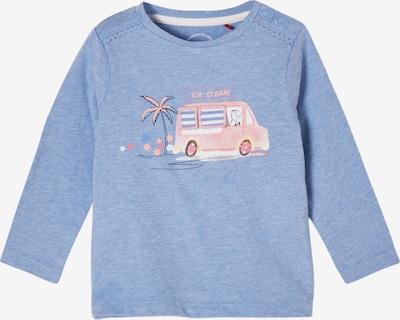 s.Oliver Shirt in de kleur Royal blue/koningsblauw / Pasteloranje / Rosa / Wit, Productweergave