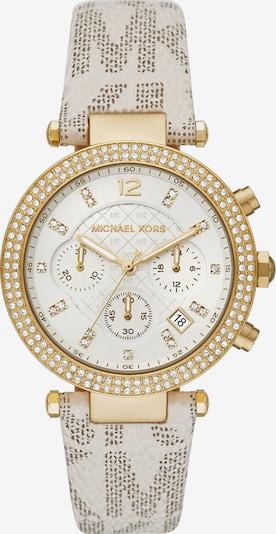 Michael Kors Uhr in beige / gold, Produktansicht
