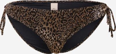 BeckSöndergaard Bikinihose 'Bibi Bottom' in braun / schwarz, Produktansicht