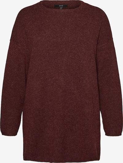 Pullover 'Brilliant' Vero Moda Curve di colore bordeaux, Visualizzazione prodotti