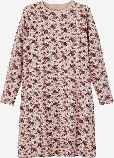 NAME IT Nachthemd in oliv / dunkellila / rosa / rosé, Produktansicht
