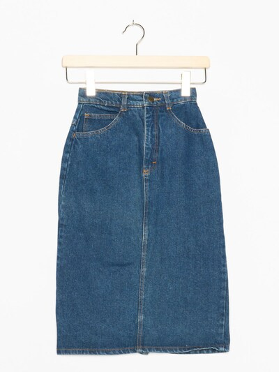 Simpatico Jeansrock in XXXS in blue denim, Produktansicht