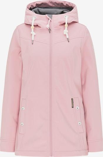 Schmuddelwedda Functionele jas in de kleur Donkergrijs / Pastelroze / Wit, Productweergave