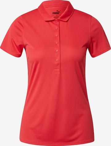 PUMA Funktsionaalne särk 'Rotation', värv punane