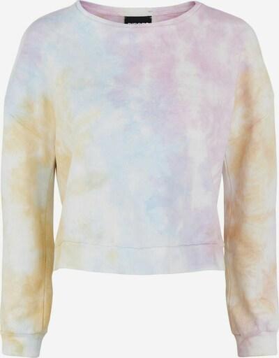 PIECES Sweatshirt in blau / pink / weiß, Produktansicht