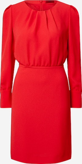 HUGO Robe 'Kavani' en rouge, Vue avec produit