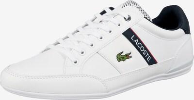 LACOSTE Sneaker 'Chaymon' in navy / feuerrot / weiß, Produktansicht