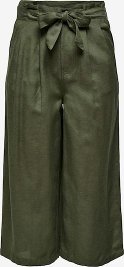 Pantaloni con pieghe 'Aminta-Viva' ONLY di colore oliva, Visualizzazione prodotti