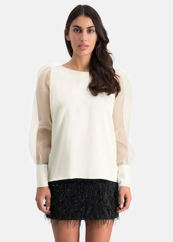 Nicowa Blouse 'WALATA' in White