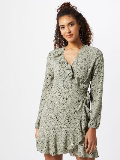 ONLY Kleid 'Carly' in schilf / schwarz / weiß, Modelansicht