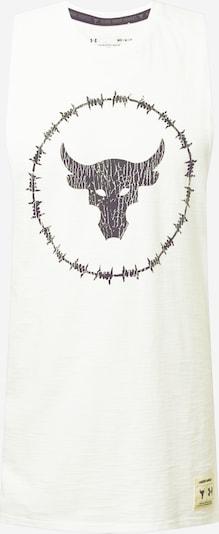UNDER ARMOUR Sporta krekls melns / dabīgi balts, Preces skats