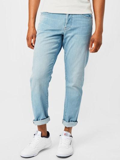 G-Star RAW Jeans in de kleur Lichtblauw: Vooraanzicht