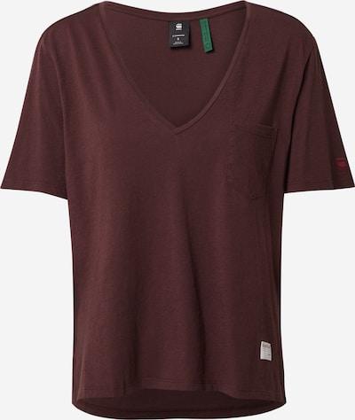 G-Star RAW T-Shirt in burgunder, Produktansicht