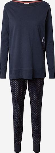 ESPRIT Pyjama 'ISOTTA' in de kleur Donkerblauw / Brokaat / Zalm roze, Productweergave