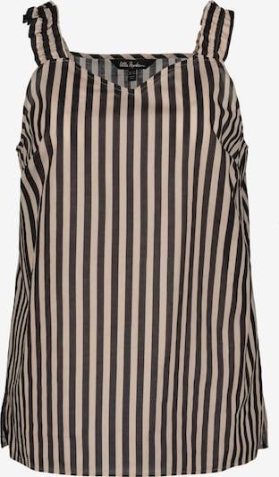 Ulla Popken Blouse in de kleur Beige / Zwart, Productweergave
