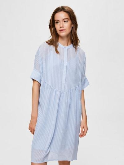 SELECTED FEMME Kleid in himmelblau: Frontalansicht