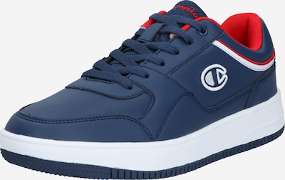 Champion Authentic Athletic Apparel Baskets basses 'Rebound' en bleu marine / rouge / blanc, Vue avec produit