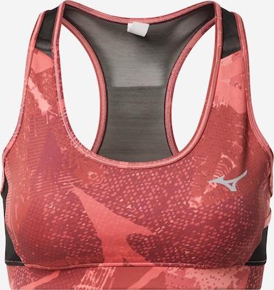 MIZUNO Sport-BH in pitaya / altrosa / schwarz, Produktansicht