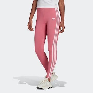 ADIDAS ORIGINALS Leggings 'Adicolor' in Roze