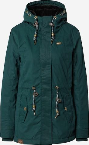 Ragwear Between-seasons parka 'MONADIS' in Green